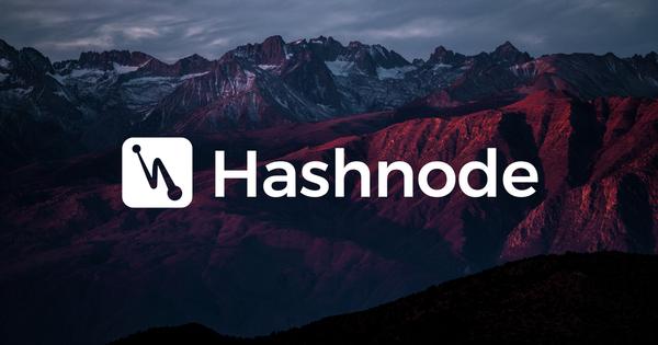 Hashnode Logo White