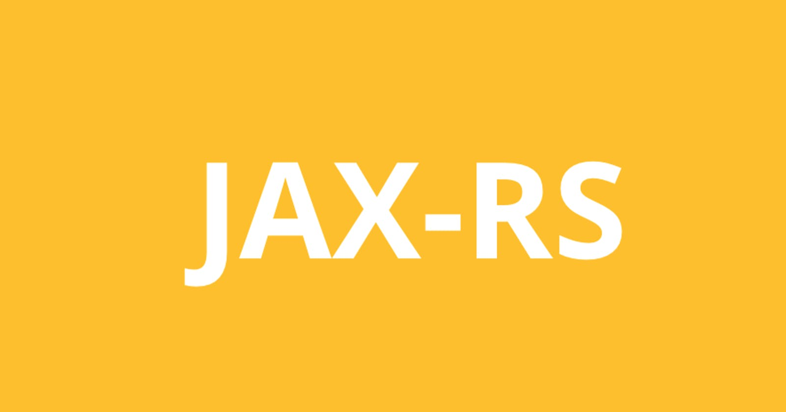 Revisiting REST with Java (JAX-RS) using Jersey