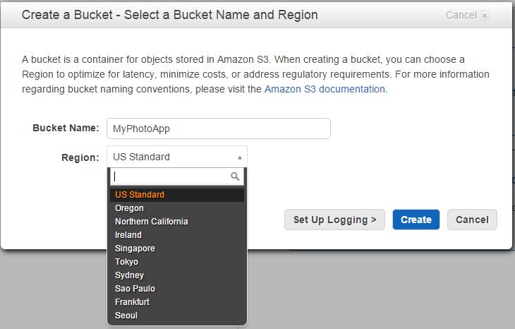 Amazon S3 Bucket