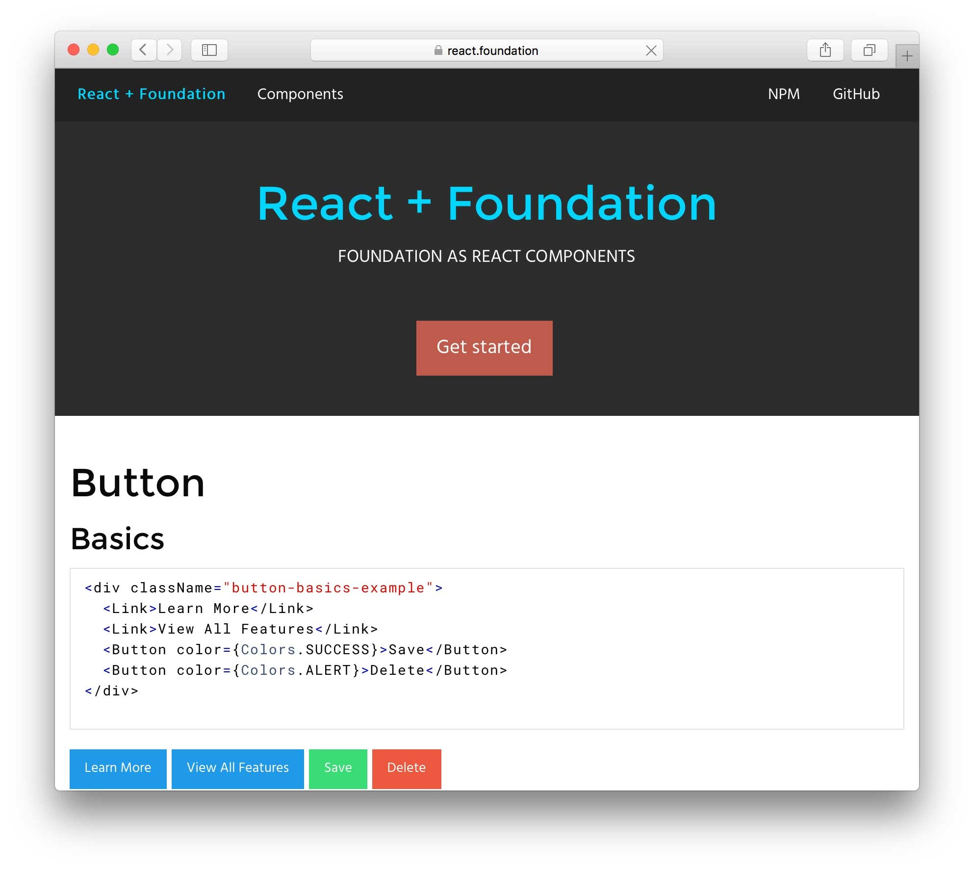 React-Foundation