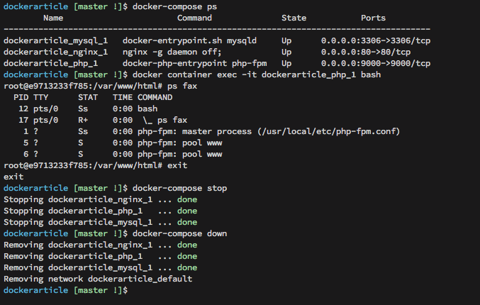 Docker Development Environment for PHP Apps