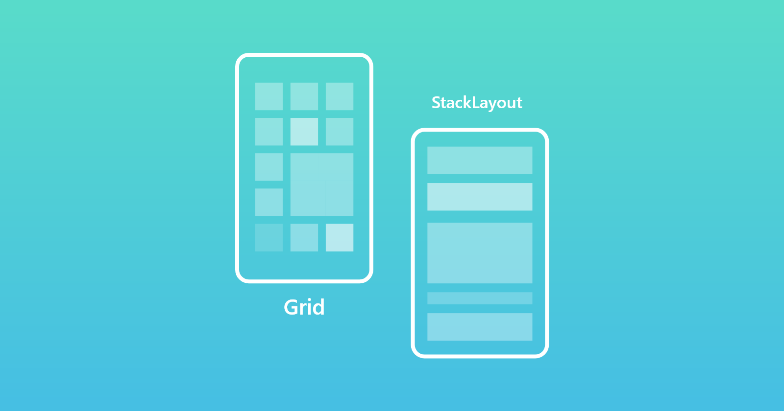 Grid and Stack Layout