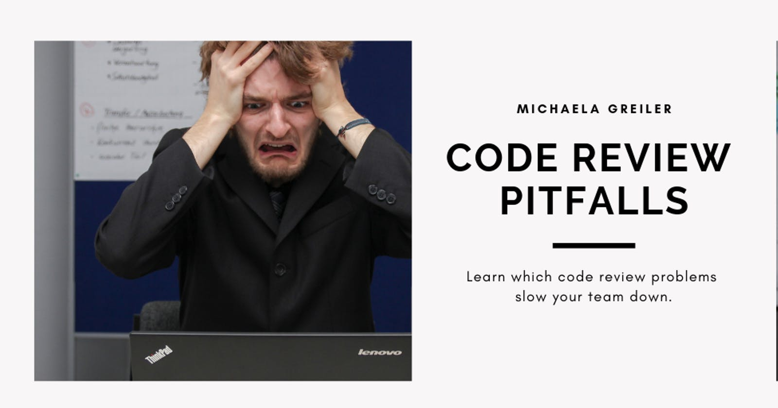 How to avoid code review pitfalls that slow your productivity down