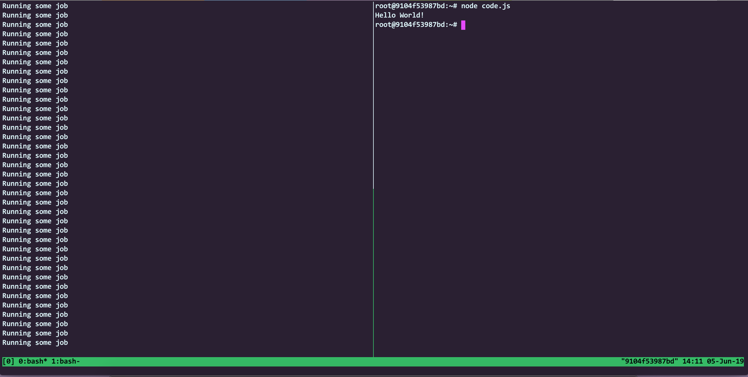 Basics of tmux and why you should care