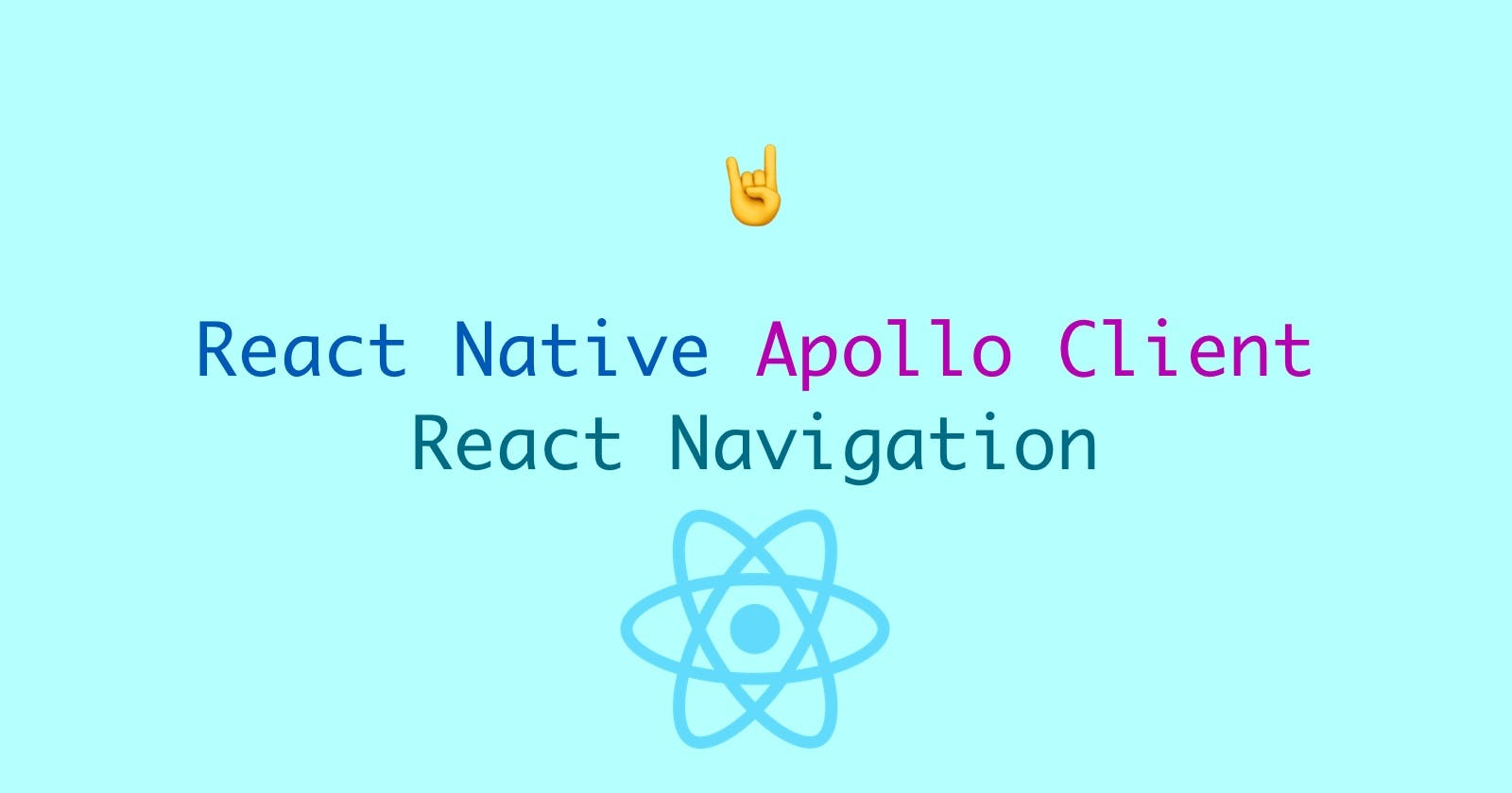 How To integrate graphQL with React native and react native navigation.
