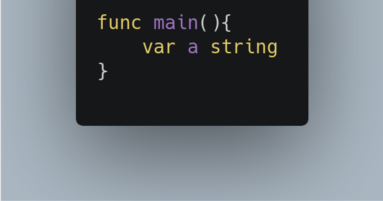 Something about Go strings that you should know