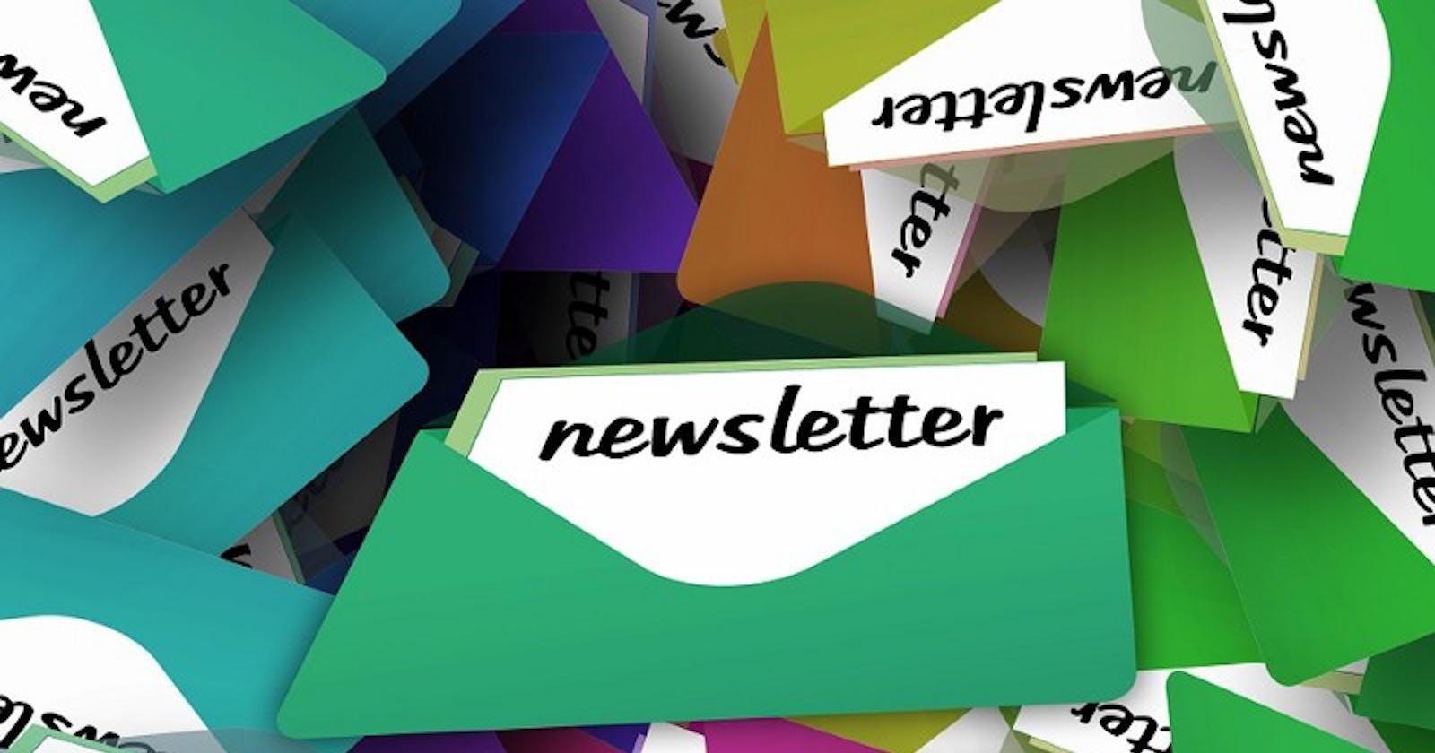 Newsletters técnicos para pessoas desenvolvedoras.