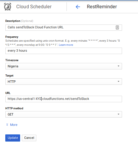 Building a Slack Reminder App 🤖 with Google Cloud Functions