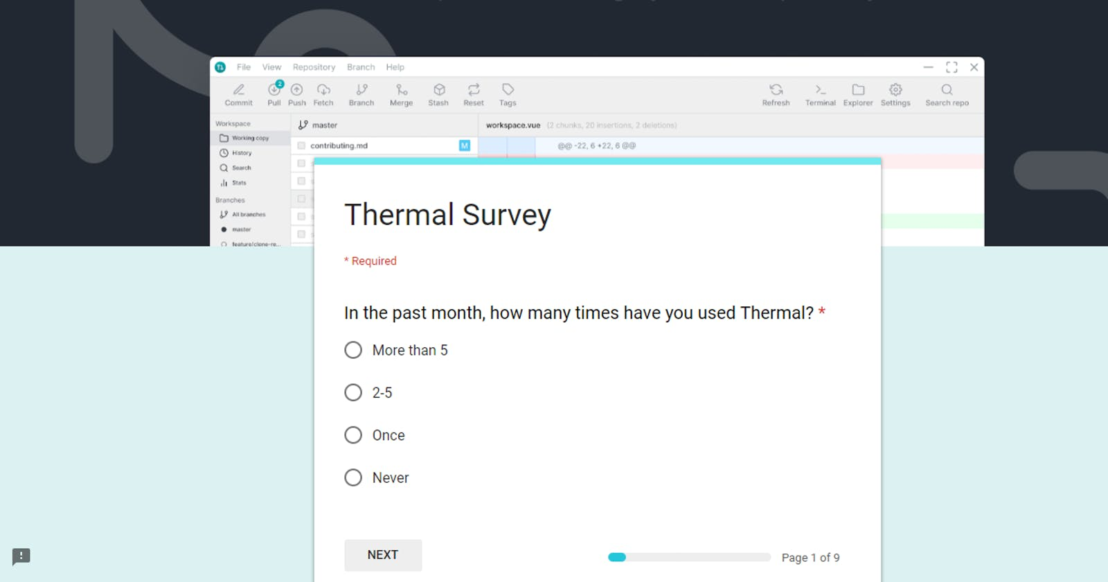 Need your feedback on Thermal project