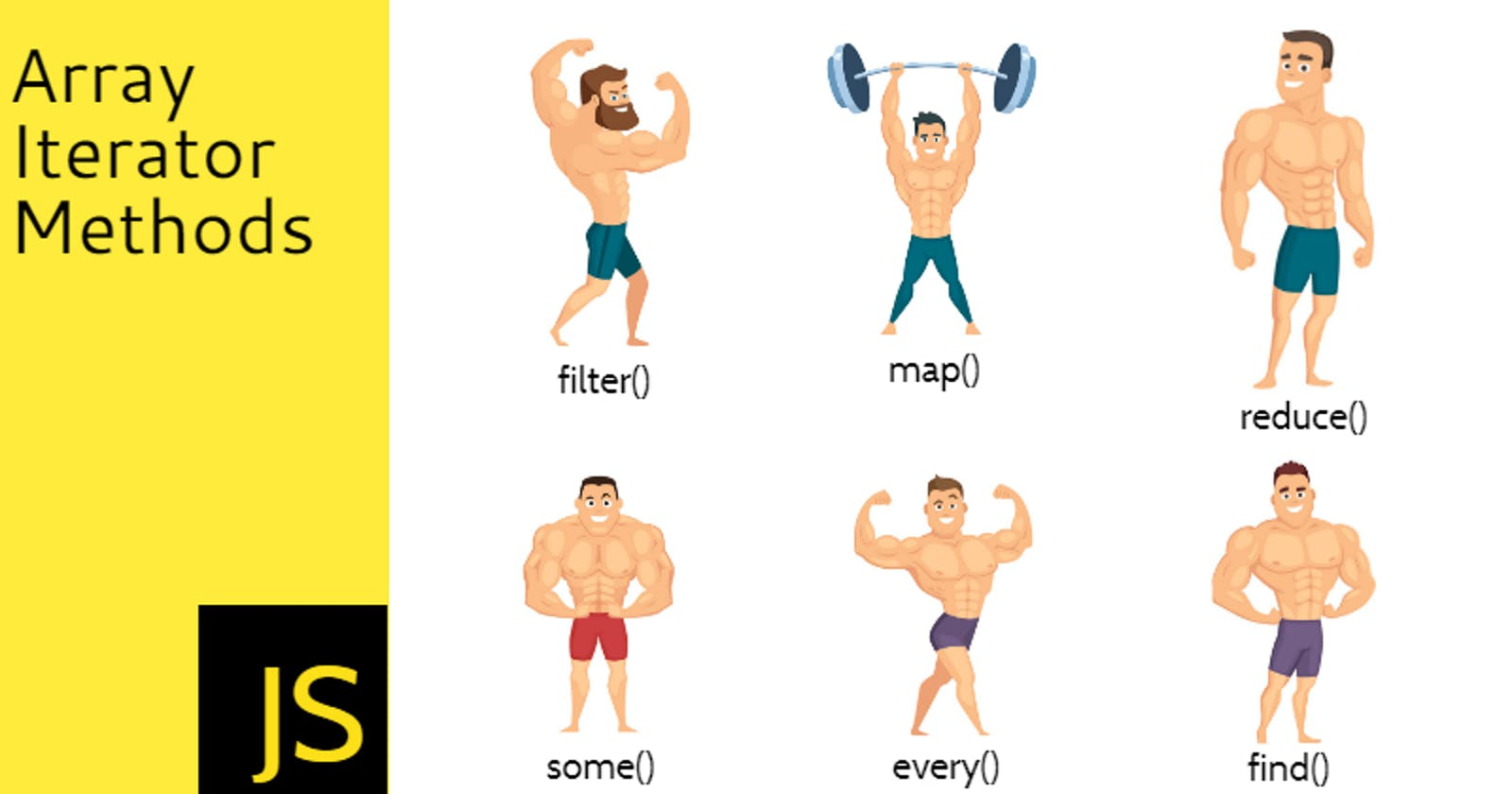 Build your JavaScript Muscles with map, reduce, filter and other array iterators