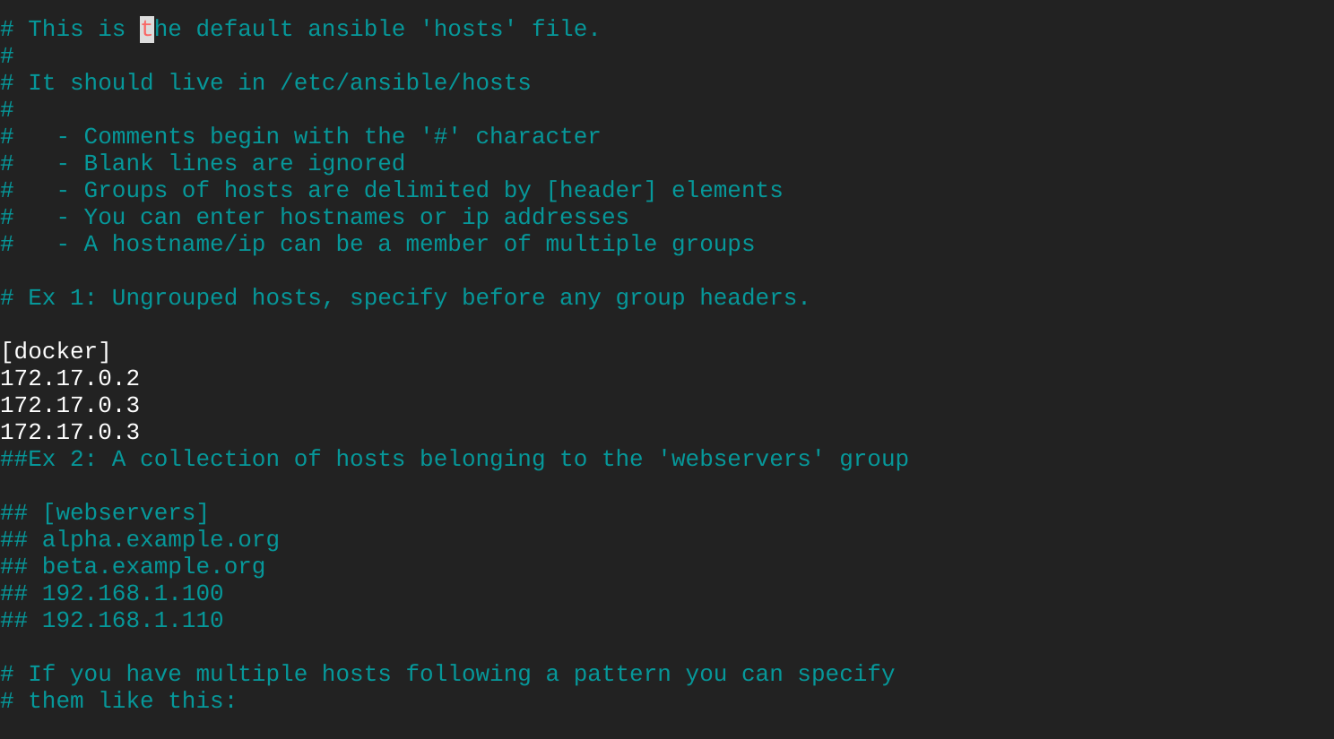 Run Ansible Ad-hoc Commands on Docker Containers