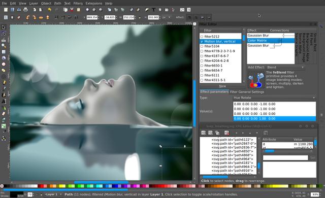 Inkscape SVG Editor