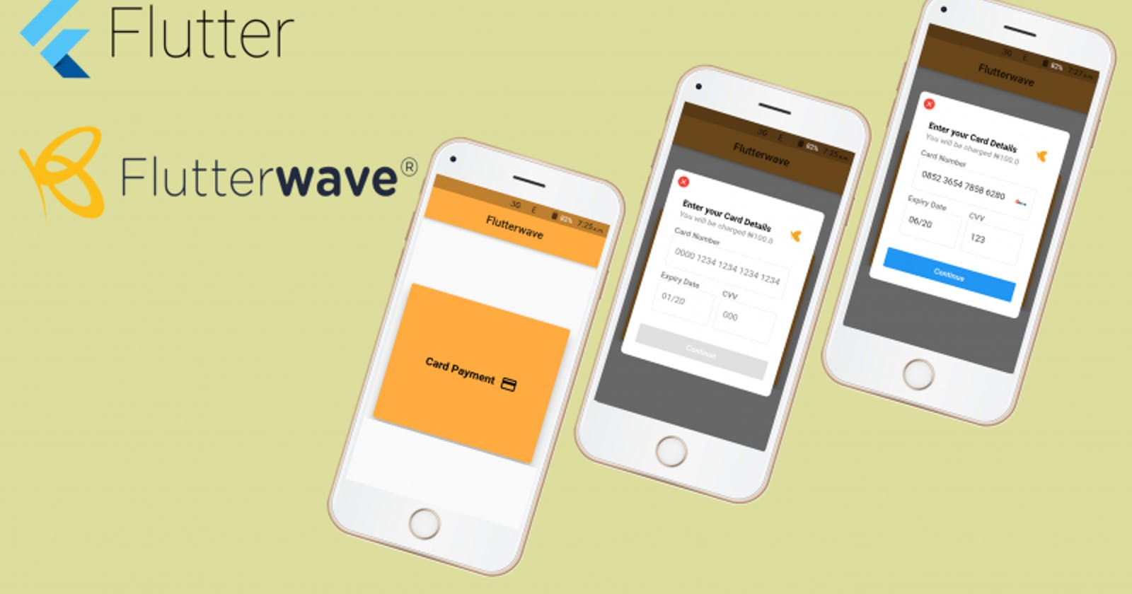 Build a Simple Payment App in 10 minutes using Flutter and Flutterwave