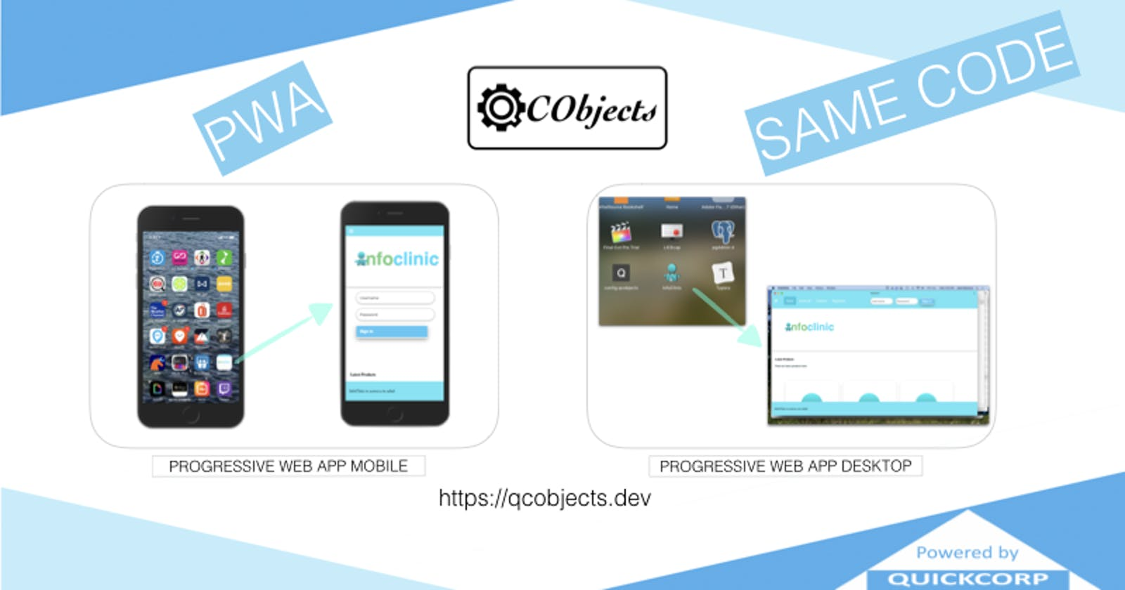 Progressive Web Apps With QCObjects