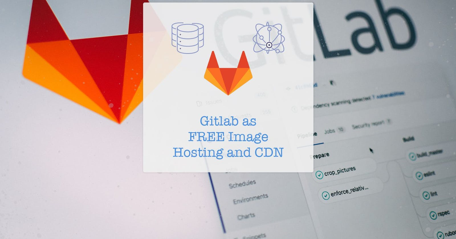 FREE Image Hosting with Gitlab