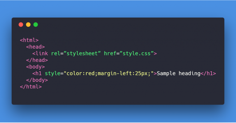 Inline CSS Image Snippet