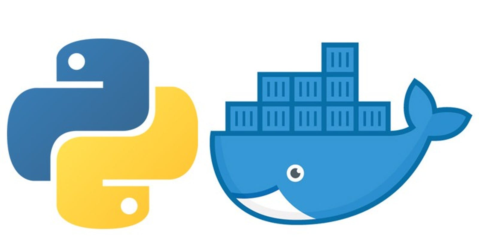 Building small python Docker images, How to?