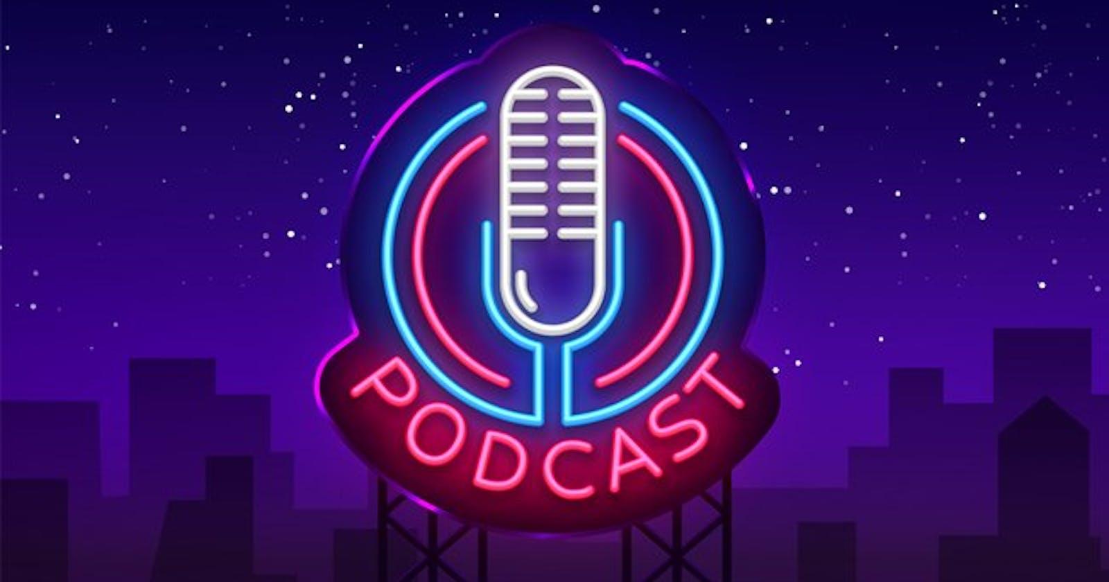 Podcasts para pessoas desenvolvedoras