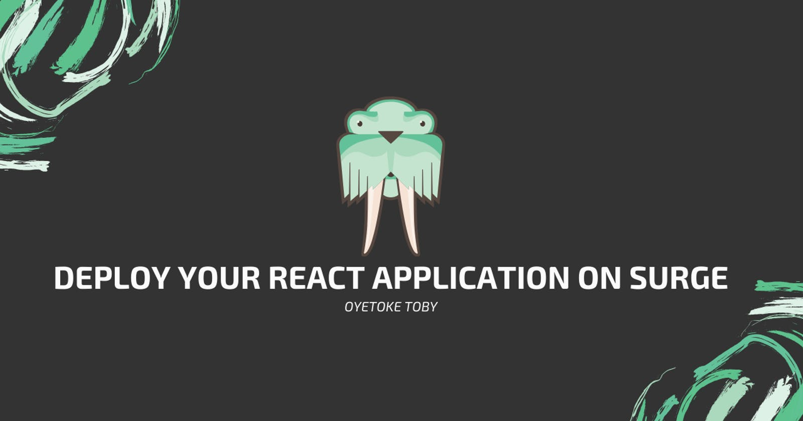 How to Deploy Your React Application on Surge