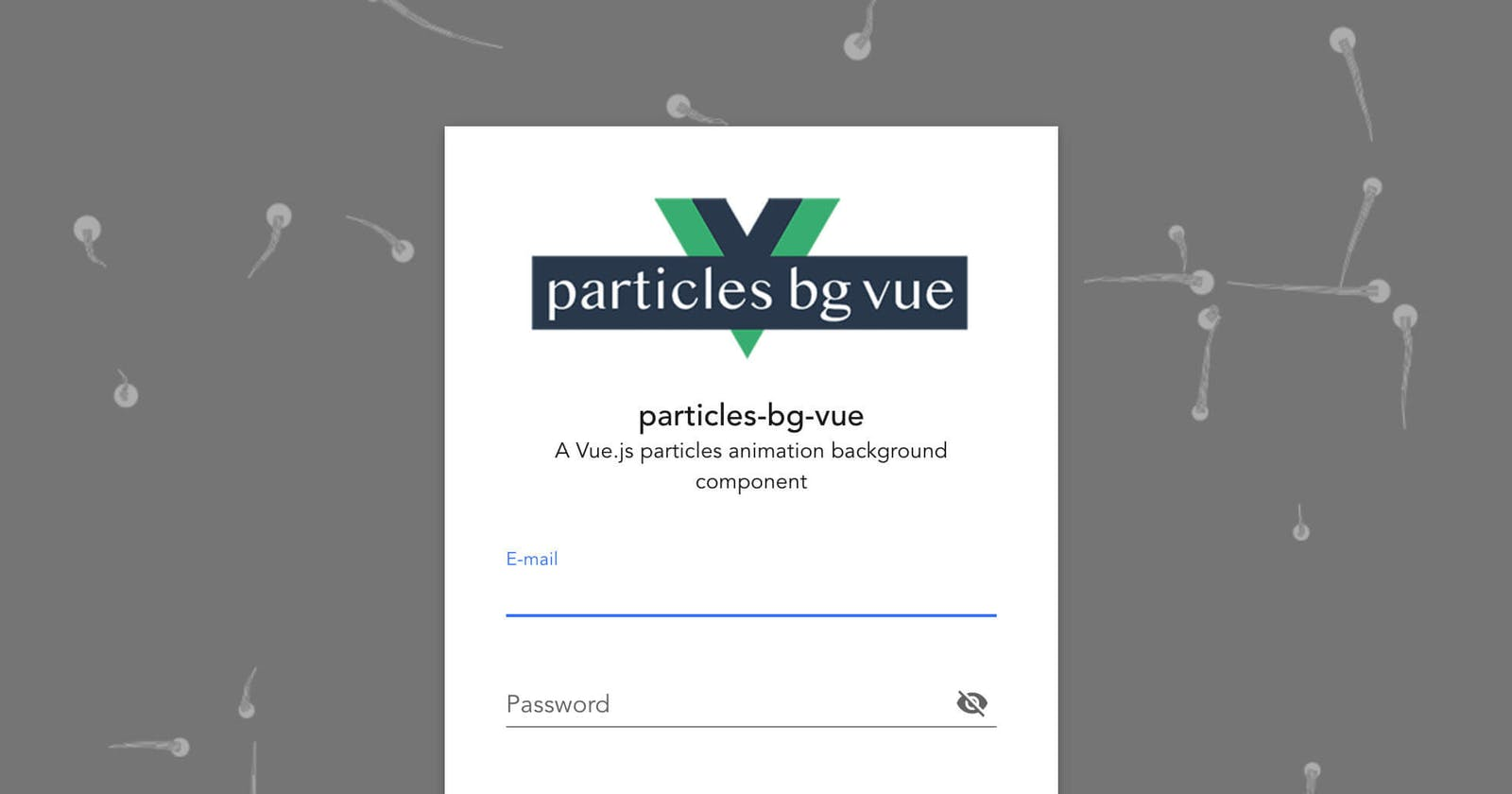 Using particles-bg-vue with Nuxt.js