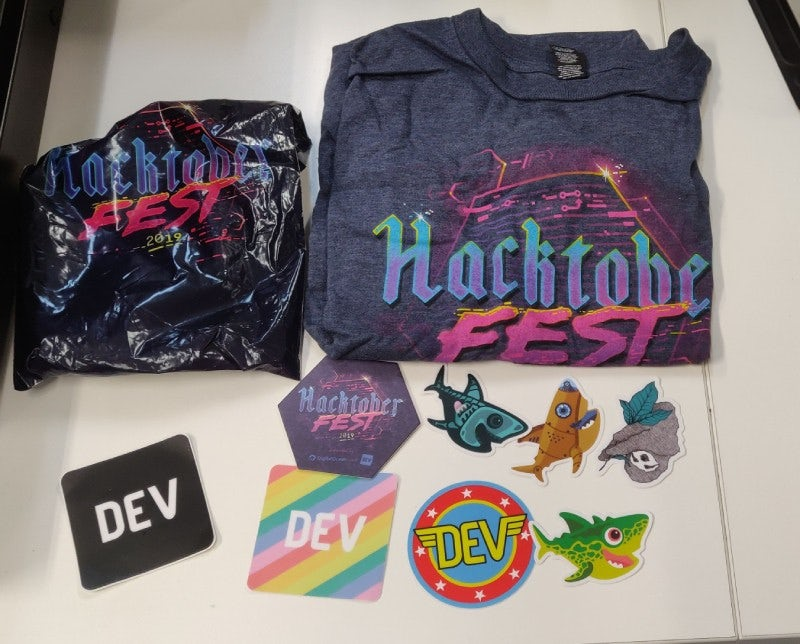 Hurray to open-source and hacktoberfest