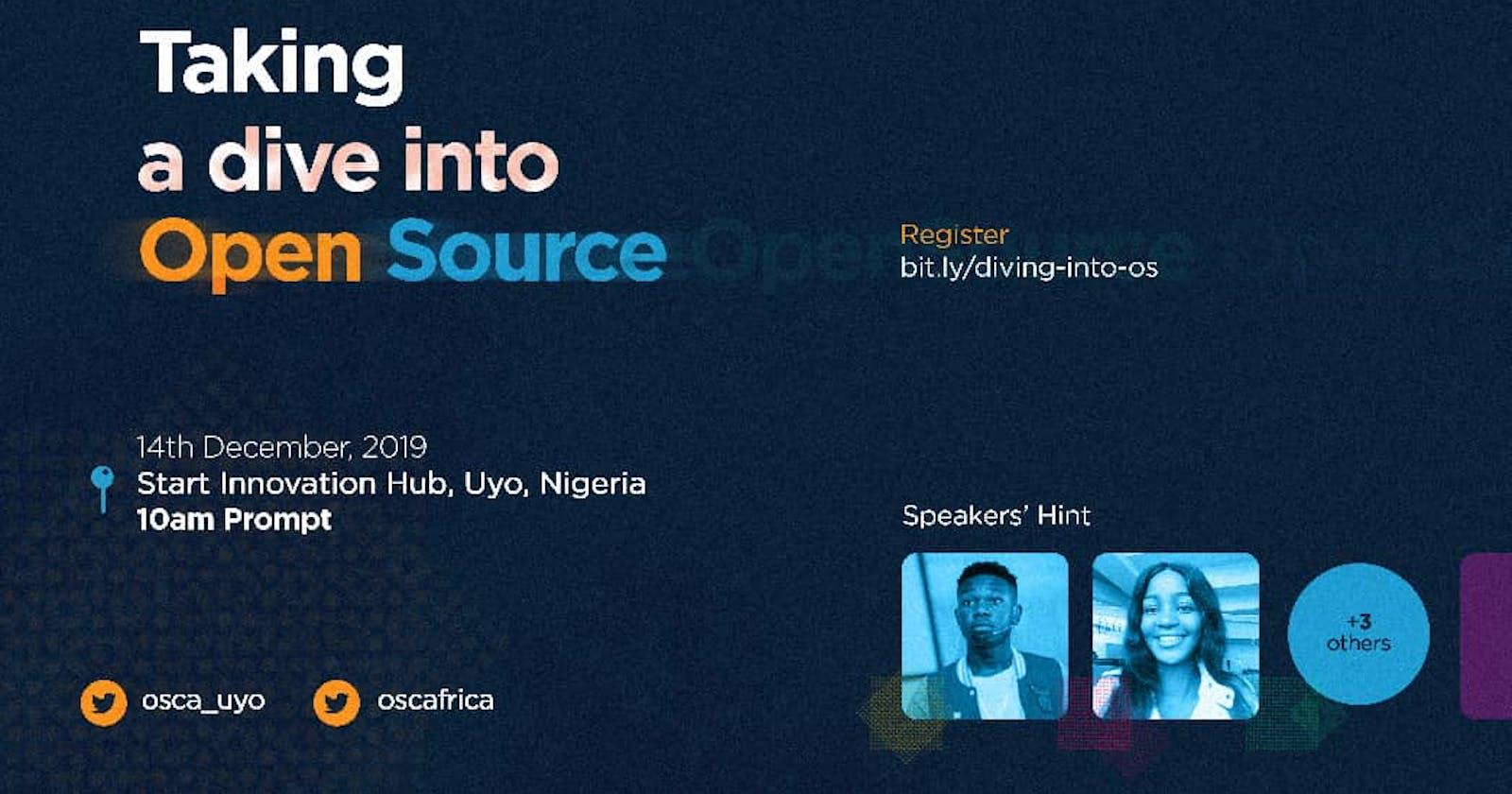 OSCAUyo: Taking a dive into Open Source recap