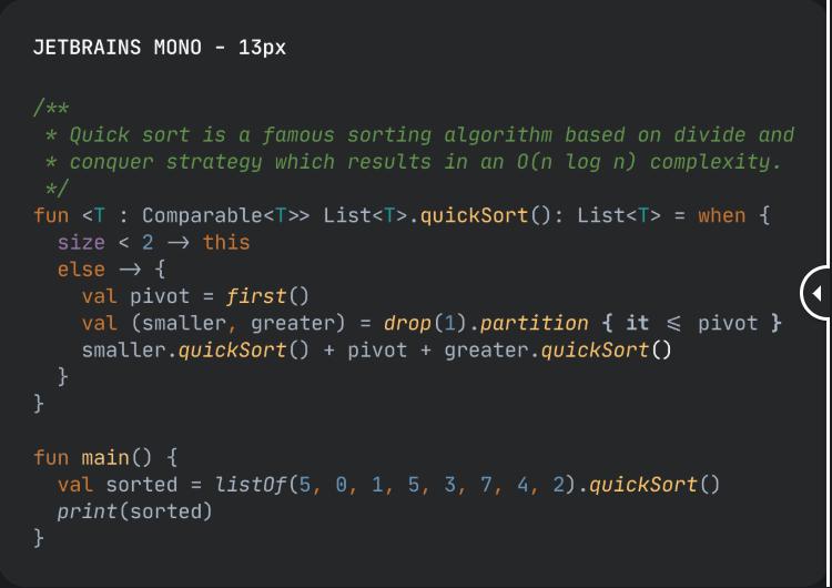 JetBrains Mono Font