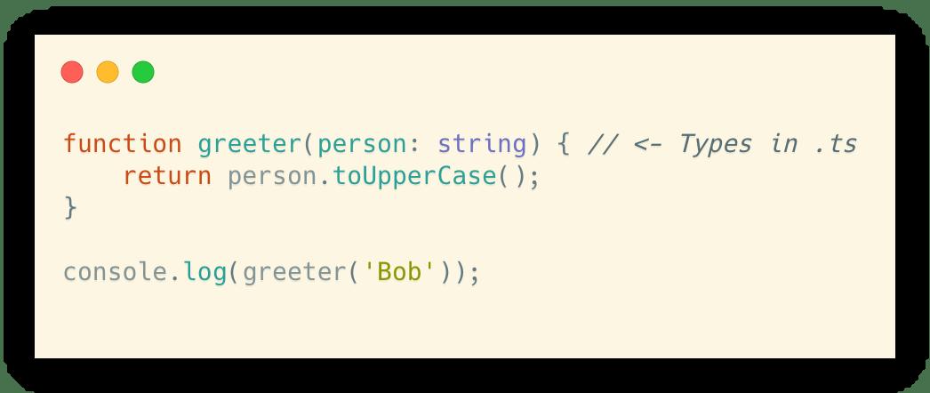 Typescript in .ts
