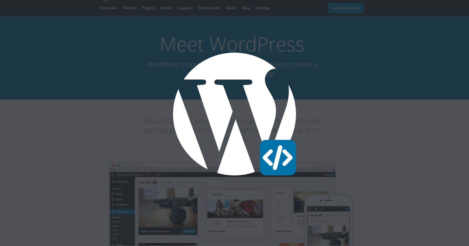 Execute PHP code in WordPress