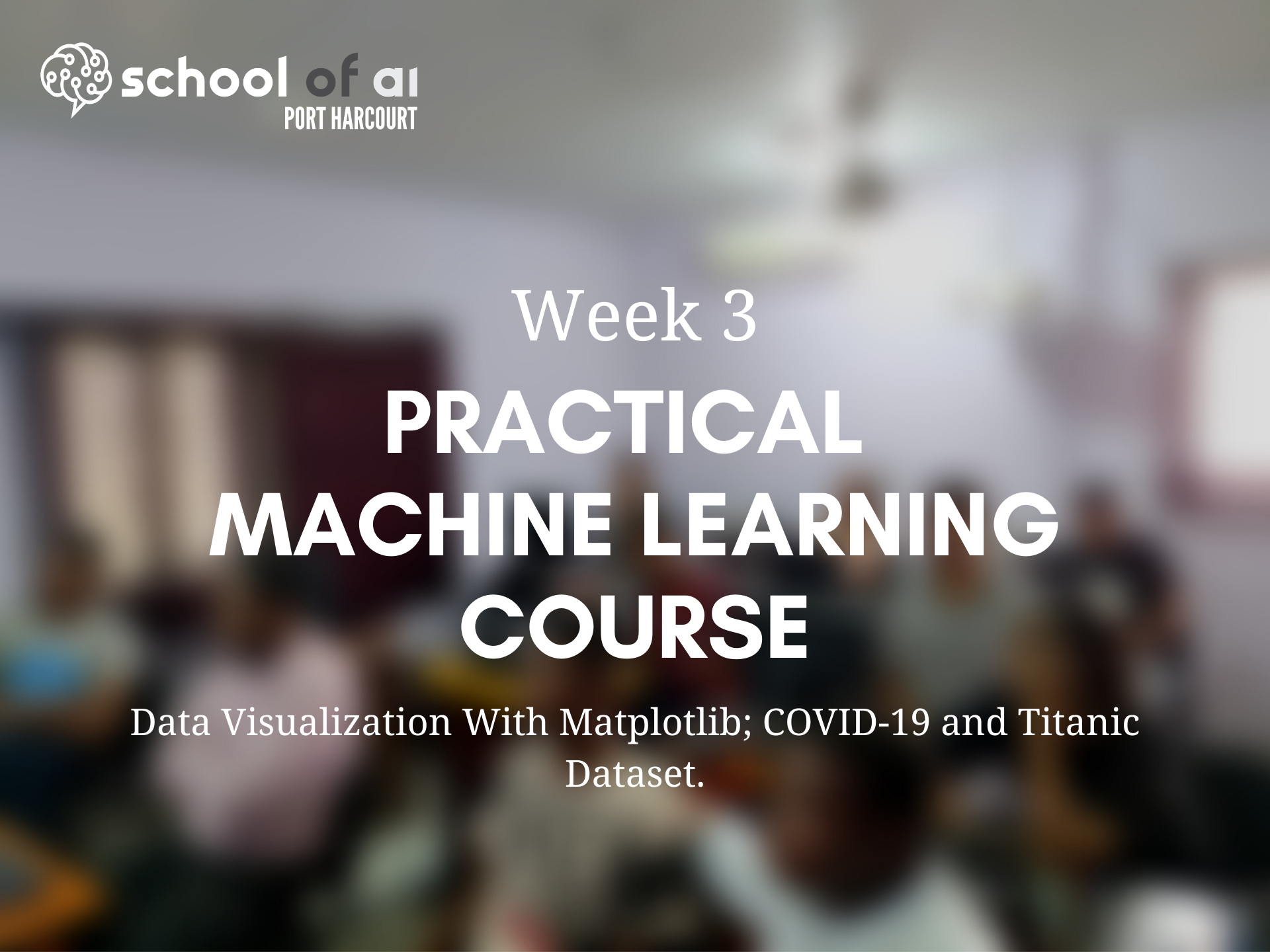 Week 3 Practical Machine Learning Course Highlights Poster