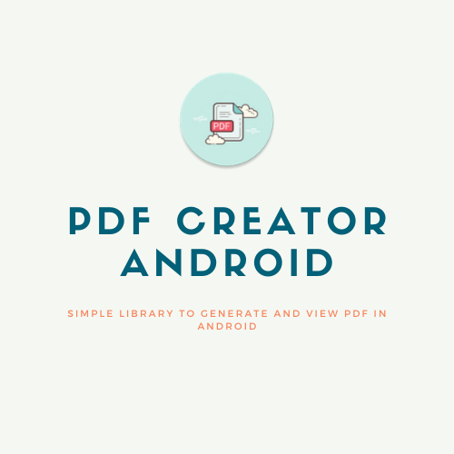 Simple library to generate and view PDF in Android.png