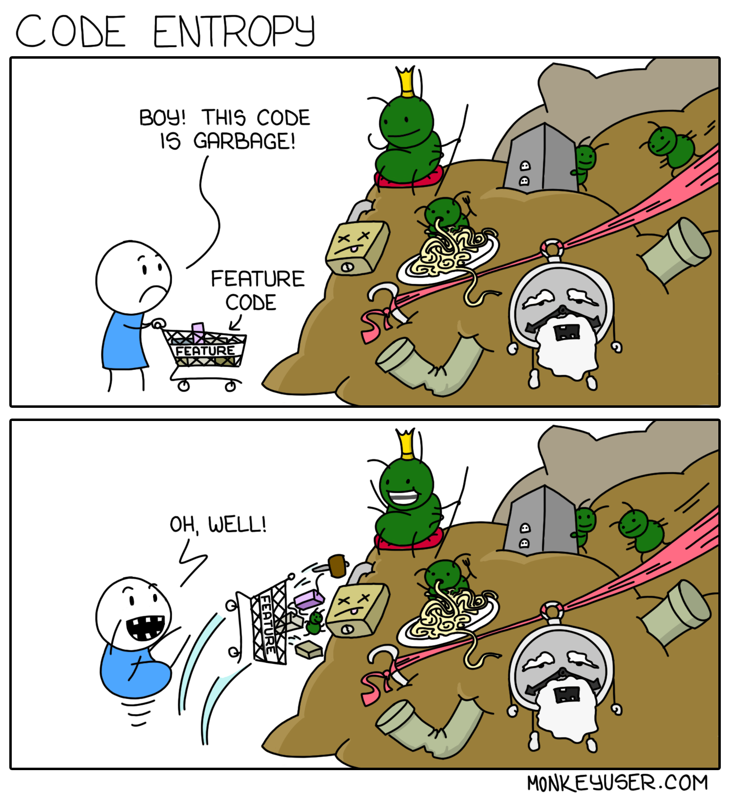 Entropy in software
