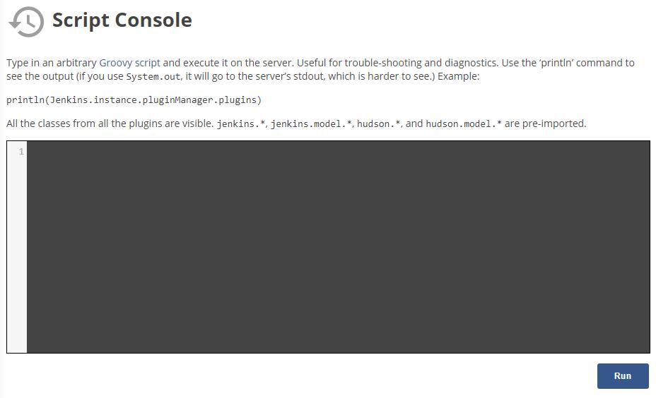Script Console