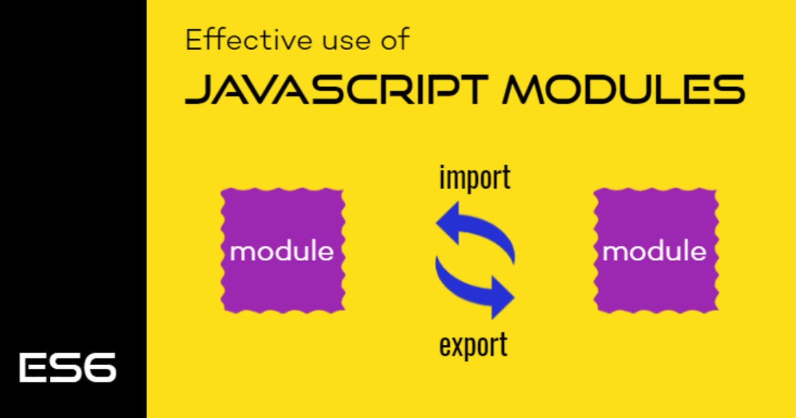 JavaScript Modules and how to effectively work with Export Import
