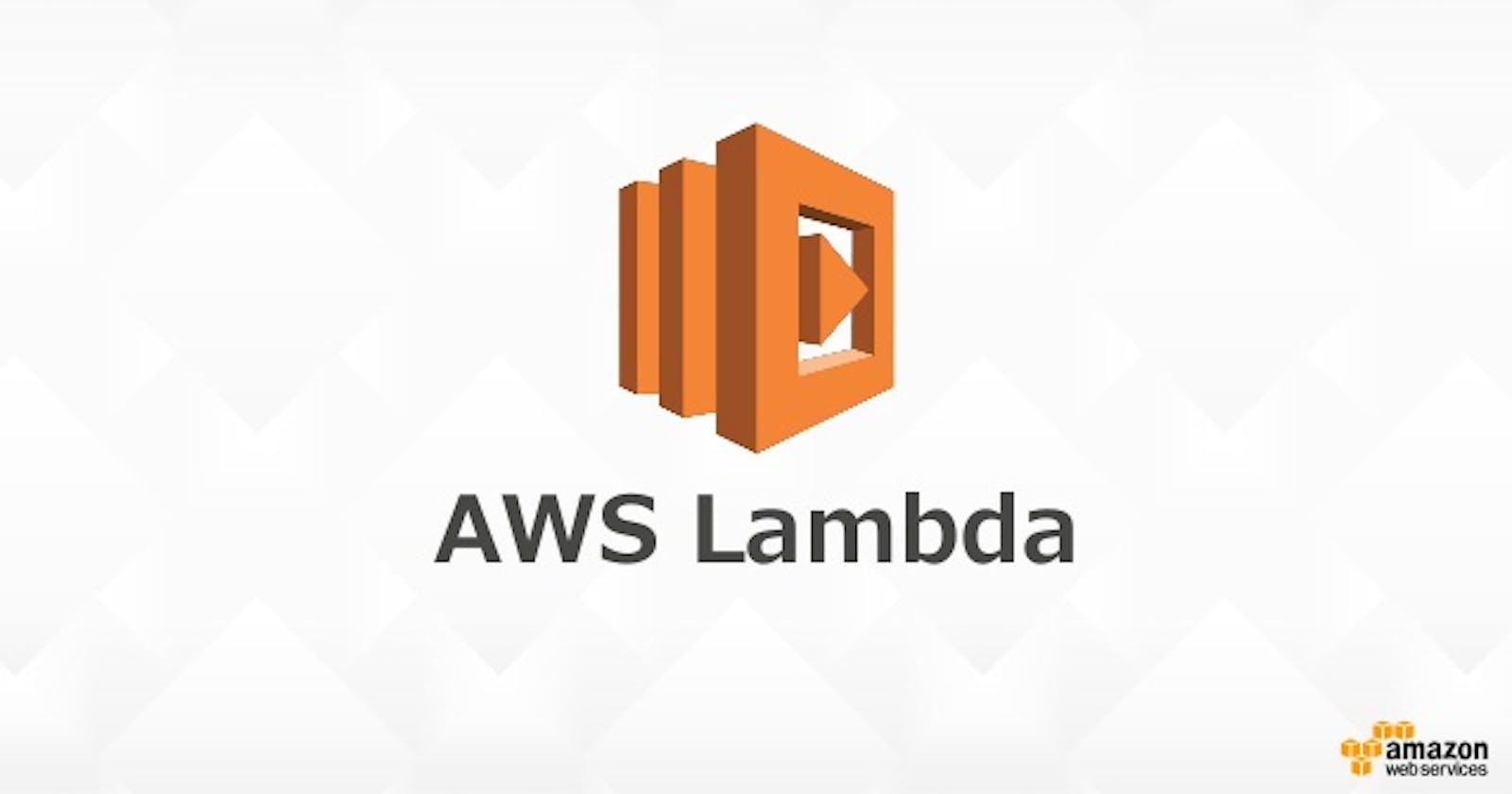 Getting to know AWS Lambda - FaaS
