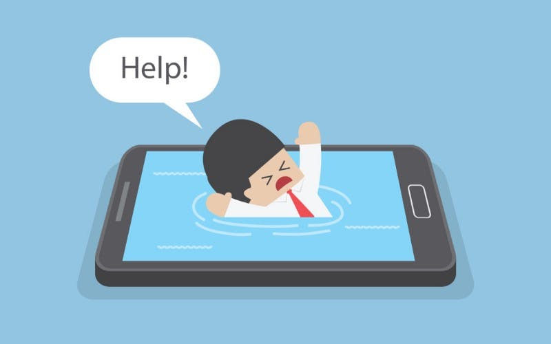 phone addiction photo