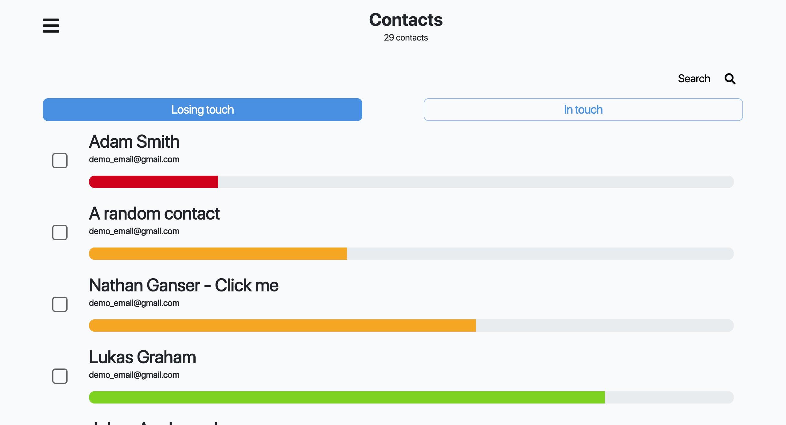 Screenshot of Nat.app