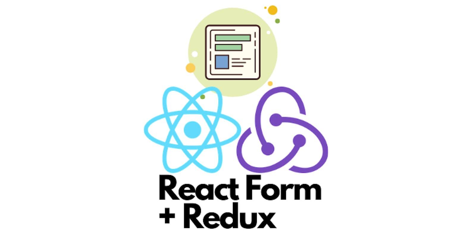 Build a React/Redux Contact Form
