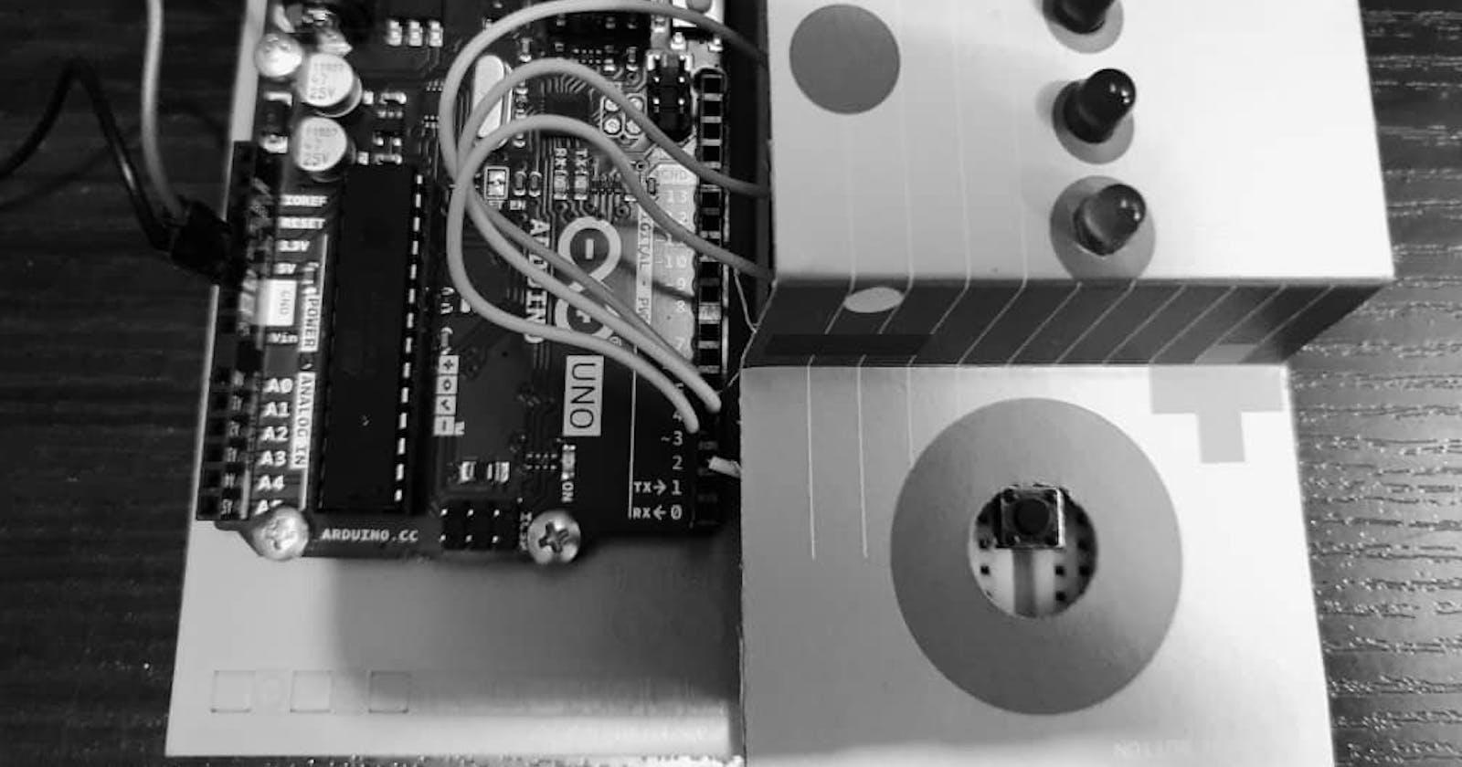 Arduino Starter Kit Project 02