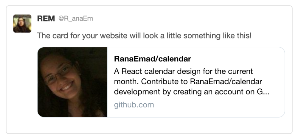 twitter summary card preview for https://github.com/RanaEmad/calendar