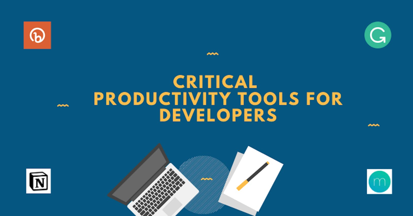 Critical productivity tools for developers