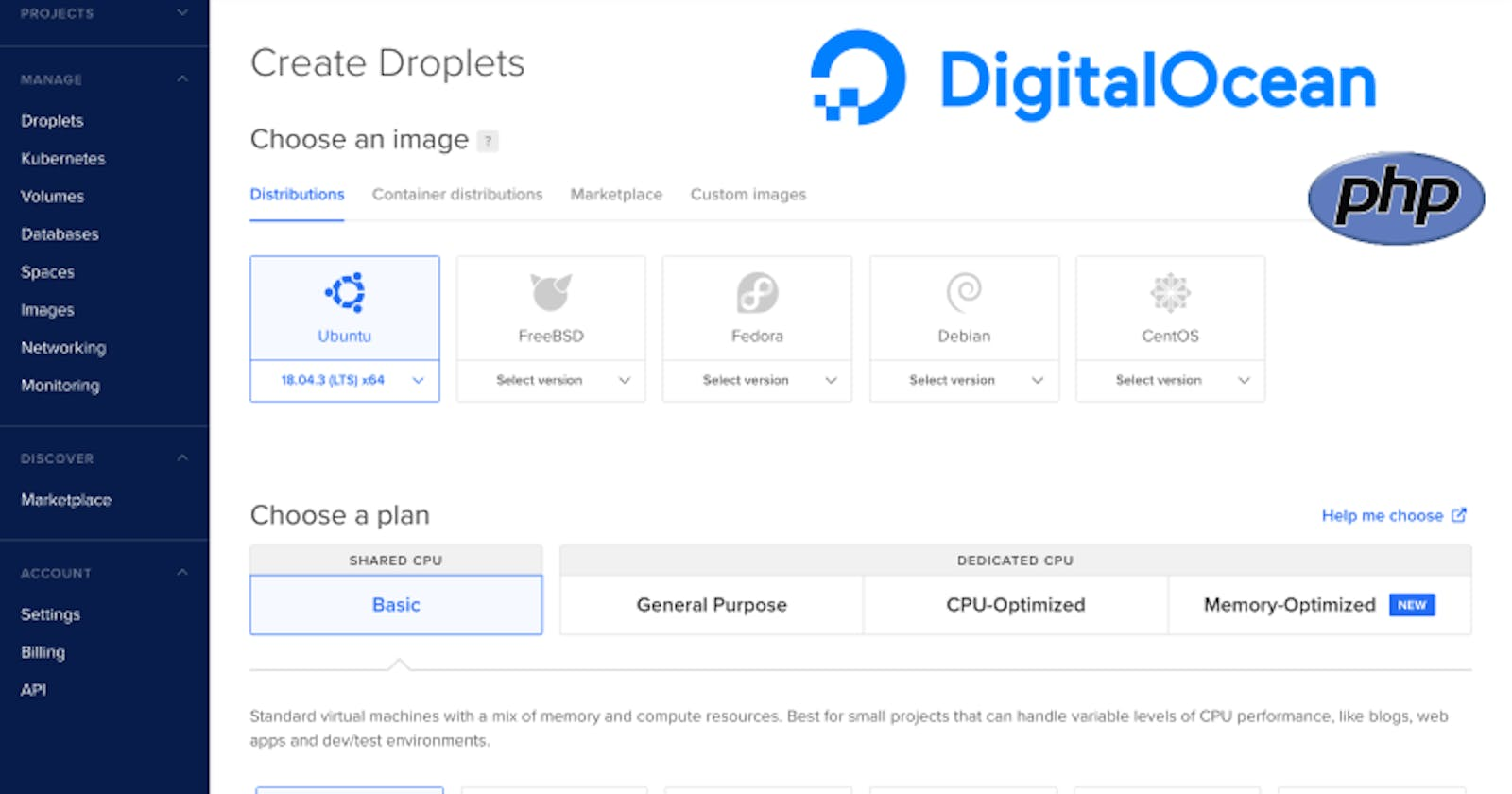 Exploring DigitalOcean Droplets And Using Them For Creating A PHP Environment