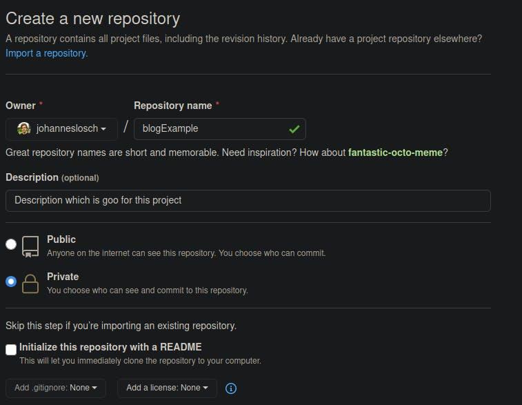 example repo