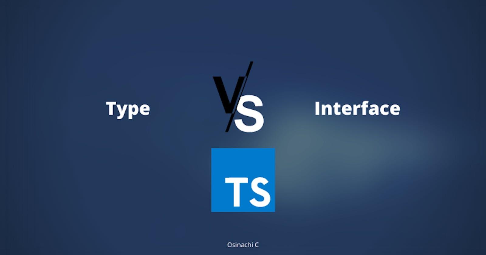 Type vs Interface in Typescript