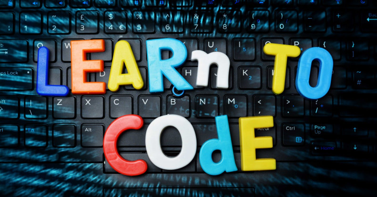 How to approach coding as a beginner.