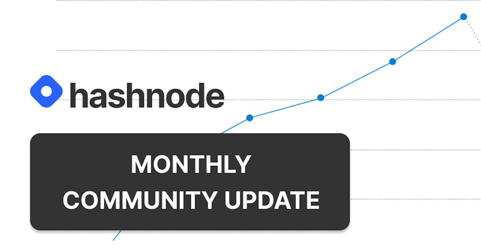 Hashnode July Update