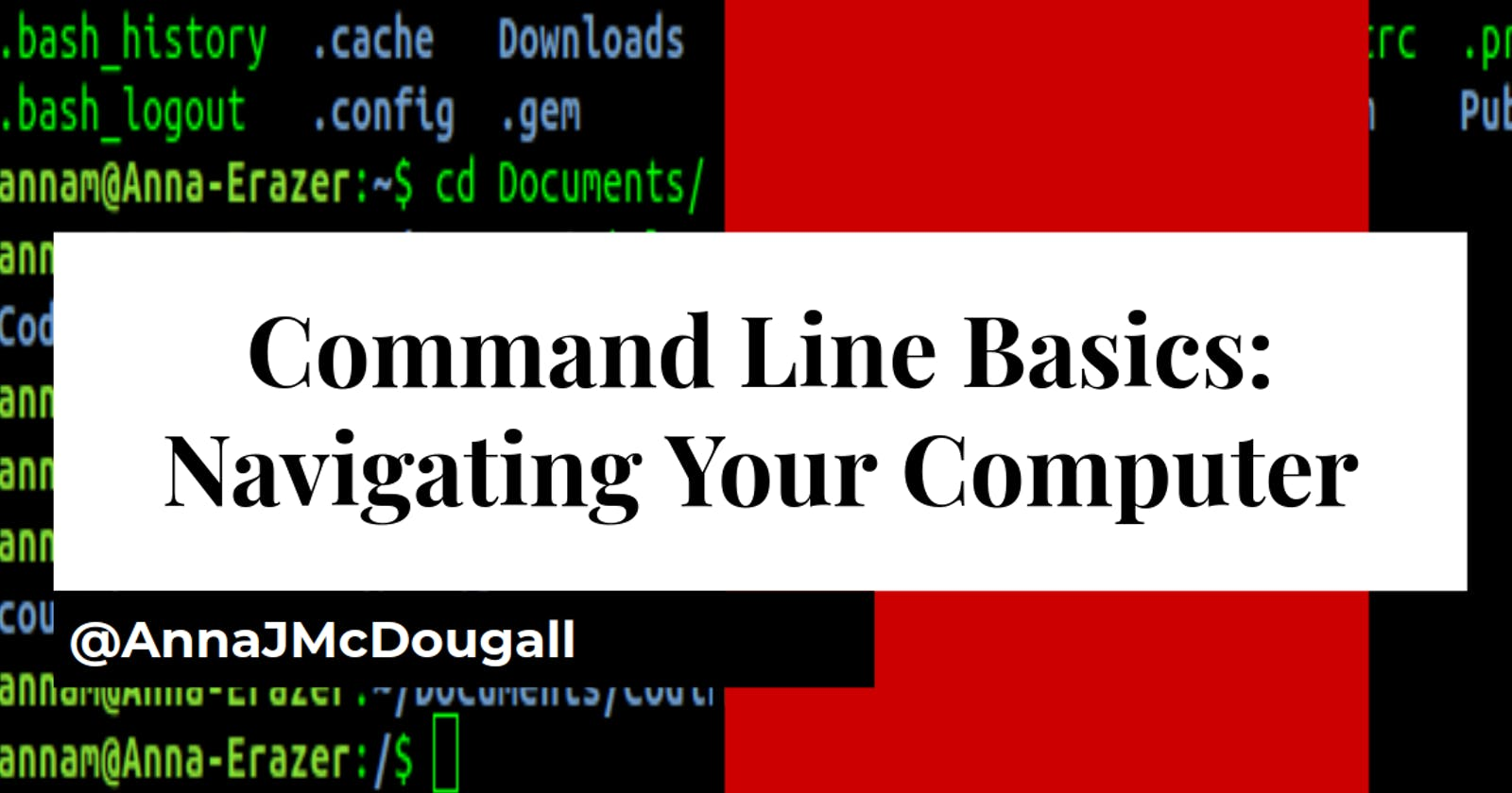 Command line basics: How to find your way around your computer