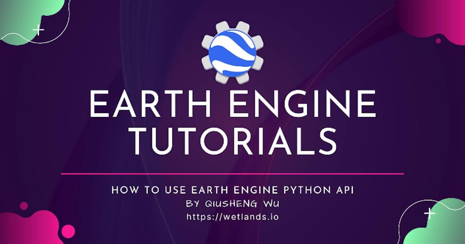 Earth Engine Video Tutorials