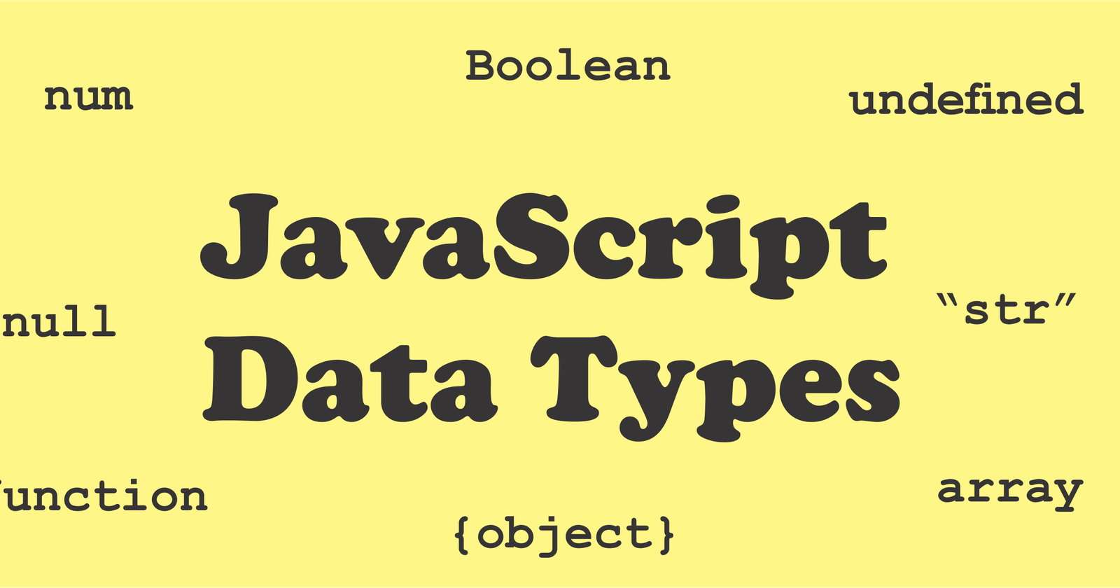 Types of Data Types in JavaScript