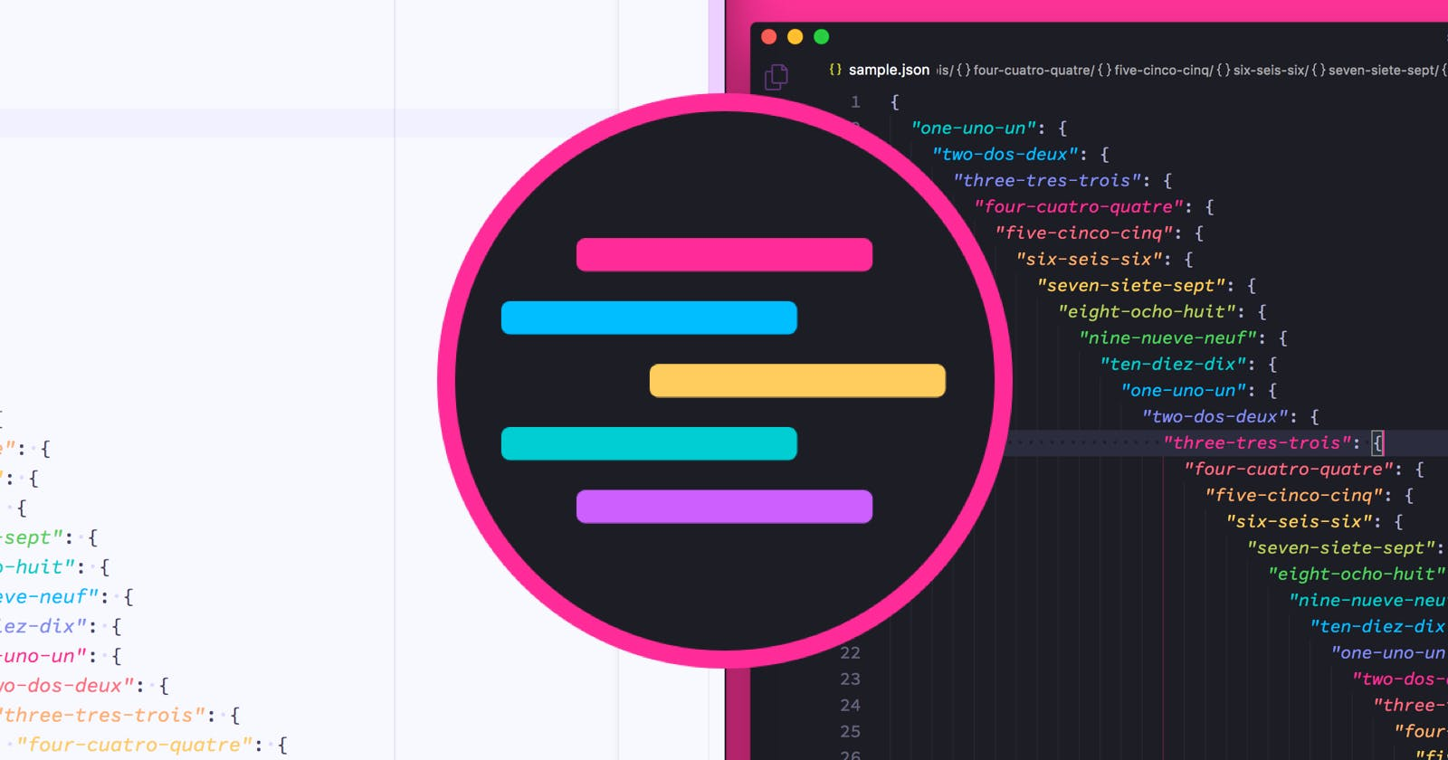 Syntax theme for Atom, VSCode, and Sublime